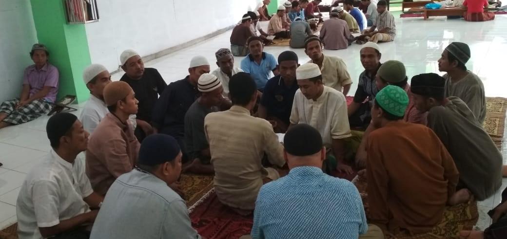 PEMBINAAN KEROHANIAN ISLAM DI MASJID AT-TAUBAH LAPAS KELAS I MEDAN