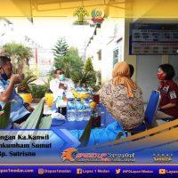 Peringati Hari Raya Idul Adha 1441 H, Kakanwil Kemenkumham Sumut Kunjungi Lapas Kelas I Medan