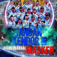JANGAN KENDOR DISIPLIN PAKAI MASKER !!!