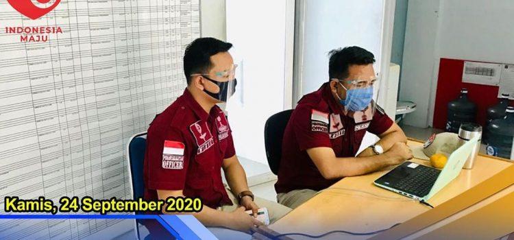 KEGIATAN TELECONFERENCE SUPERVISI PAGU ANGGARAN TAHUN 2021