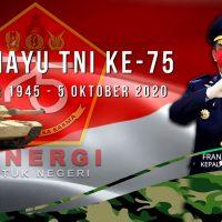 KELUARGA BESAR LAPAS KELAS I MEDAN MENGUCAPKAN DIRGAHAYU TNI KE-75
