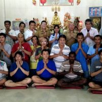 PEMBINAAN KEROHANIAN BUDDHA VIHARA BUDDHA SASANA LAPAS KELAS I MEDAN