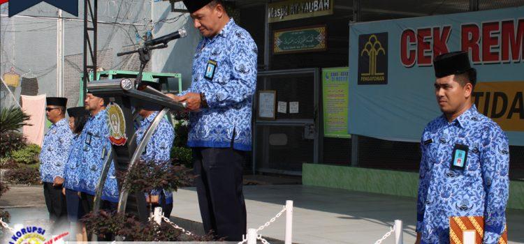 UPACARA HUT KE-48 KORPS PEGAWAI REPUBLIK INDONESIA DI LAPAS KELAS I MEDAN