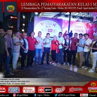 PERFORM LAGUSTA BAND  PADA KEGIATAN CHINESE NEW YEAR DI MERDEKA WALK MEDAN