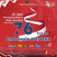 76 JAM PEMASYARAKATAN MENUJU 76 TAHUN INDONESIA MERDEKA