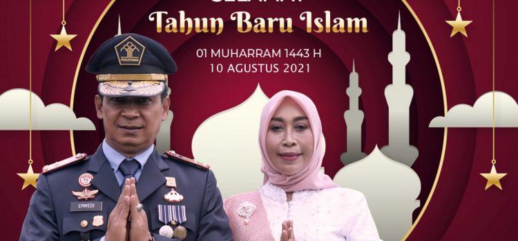KELUARGA BESAR LAPAS KELAS I MEDAN MENGUCAPKAN SELAMAT TAHUN BARU ISLAM 1443 H