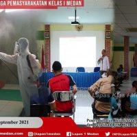 BAKTI SOSIAL PALANG MERAH INDONESIA KOTA MEDAN KE LAPAS KELAS I MEDAN KANWIL KEMENKUMHAM SUMUT DALAM RANGKA ULANG TAHUN PMI KE-76