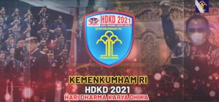 SEMARAK PERINGATAN HARI DHARMA KARYA DHIKA 2021