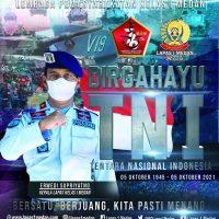 KELUARGA BESAR LAPAS KELAS I MEDAN MENGUCAPKAN DIRGAHAYU TNI KE-76