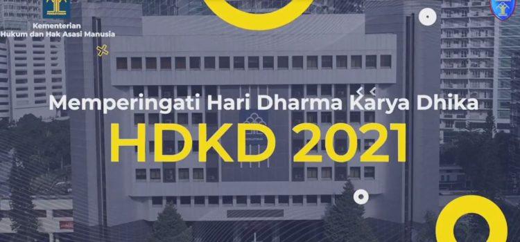 VIDEO RANGKAIAN KEGIATAN HARI DHARMA KARYA DHIKA 2021